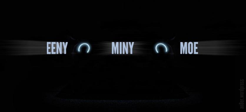 Mini Cooper Eeny Meeny Miny Moe Ads An 8er