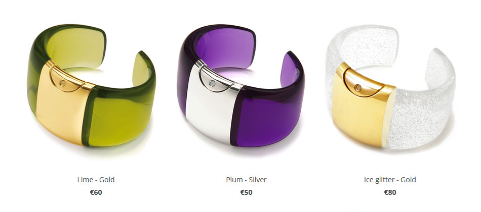 bracelet perfume container