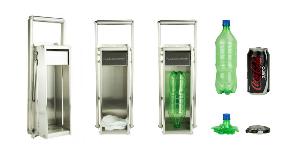 plastic bottle crusher